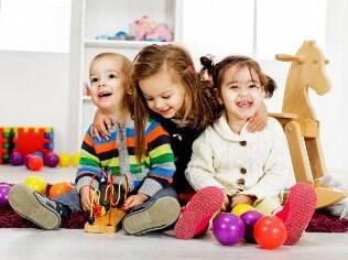 A famosa brinquedoteca entretém os pequenos e melhora seu desenvolvimento