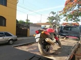 Motocicleta era usada em roubos na região metropolitana