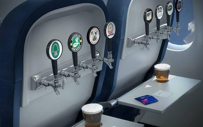Delta Air Lines terá cervejas artesanais em alguns de seus voos domésticos nos EUA