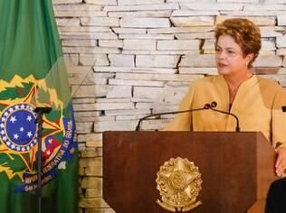 Em encontro com os 39 ministros de Estado, Dilma pediu apoio para as reformas