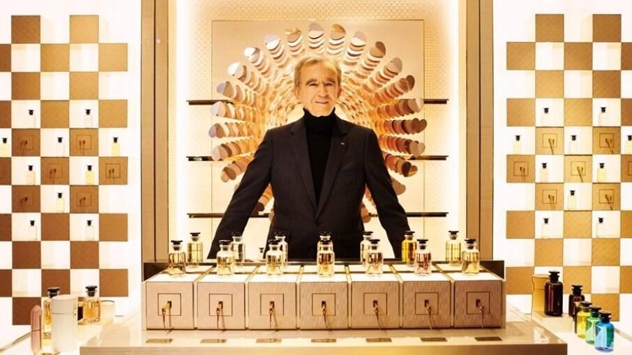 Bernard Arnault, dono da Louis Vuitton, torna-se o homem mais rico do mundo
