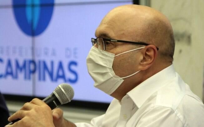 AO VIVO - Dário faz anúncio sobre enfrentamento da pandemia em Campinas