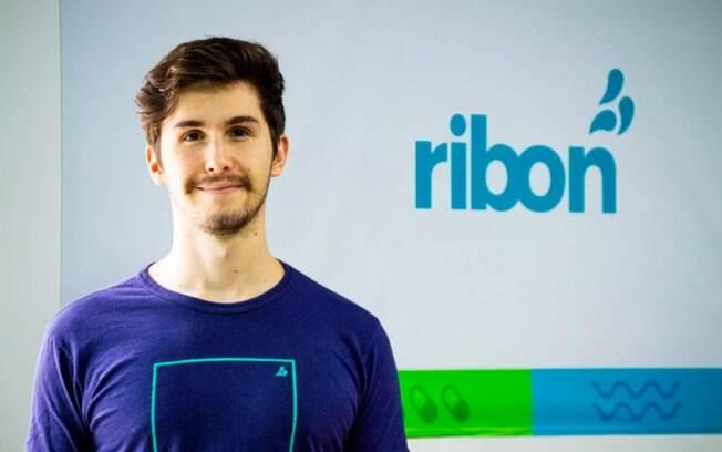 Rafael Rodeiro, criador do aplicativo Ribon, que busca doações para comunidades