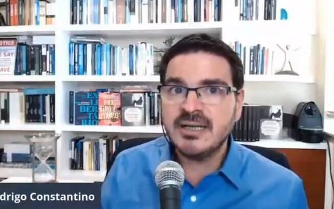 Em live no seu canal do Youtube, o jornalista comentou o caso Mariana Ferrer