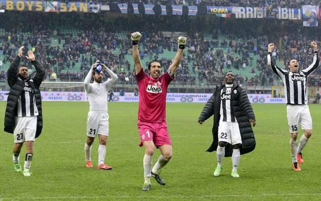Juventus derrotou Inter de Milão por 2 a 1  fora de casa e está muito perto do título  italiano