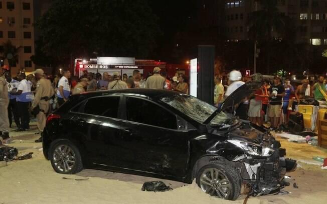 Motorista que atropelou 18 pessoas em Copacabana é condenado