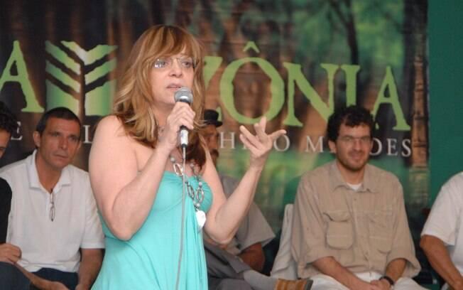 A autora Gloria Perez, que também é acreana, foi a responsável pela série