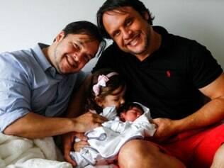 O enfermeiro, que já tinha uma filha com o companheiro, conseguiu o direito a 180 dias de licença-maternidade