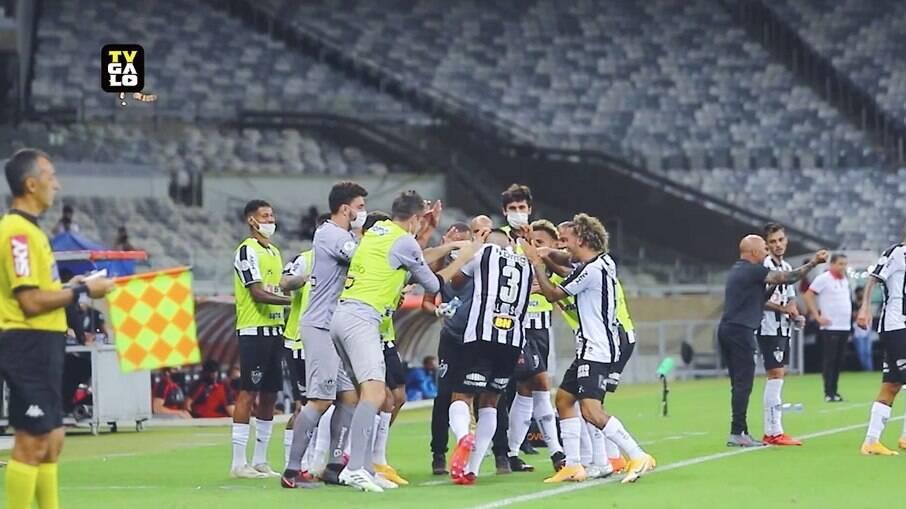 Atlético-MG vence o Atlético-GO