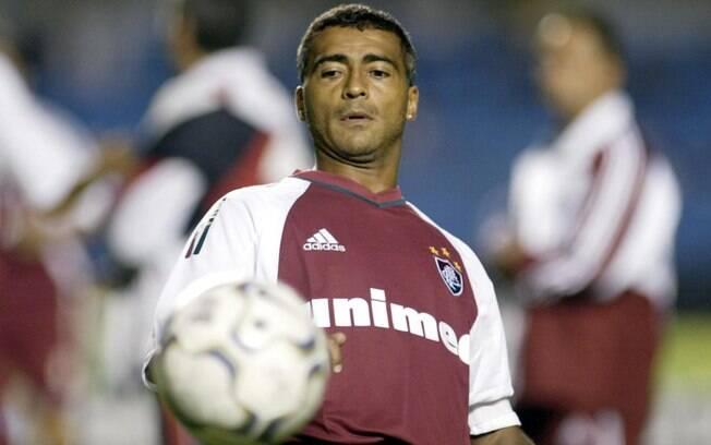 Em 2002, Romário saiu do Vasco para se juntar  ao Fluminense