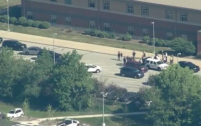Um novo tiroteio em escola deixou pelo menos dois feridos na cidade de Indianápolis, nos Estados Unidos