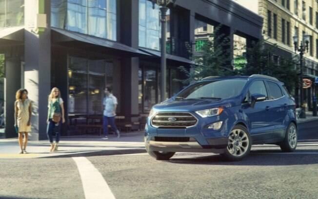 Ford EcoSport , primeiro SUV compacto criado no Brasil, chega aos cobiçado mercado dos Estados Unidos
