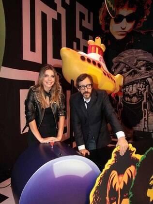 Daniella Cicarelli e Thunderbird gravaram episódio do programa