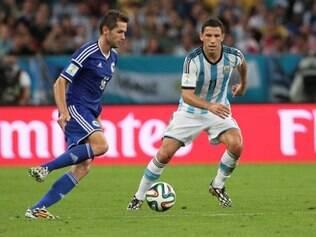 Seleção da Bósnia perdeu para a Argentina, na estreia, e foi derrotada também pela Nigéria