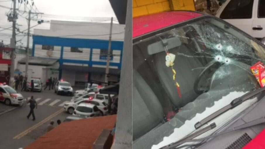 Bandidos deixaram explosivos em mercado de SP