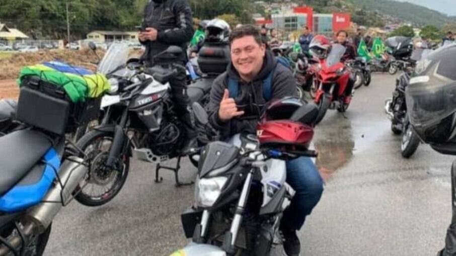 Douglas, morto em acidente após motociata bolsonarista em SC