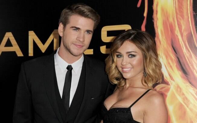 Miley Cyrus e Liam Hemsworth foram um dos casais mais