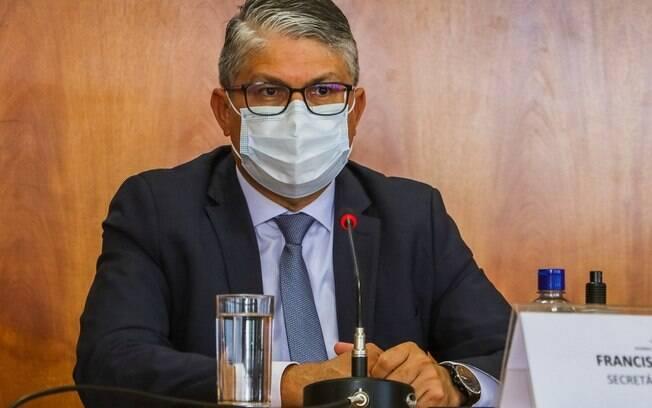 Secretário de Saúde do Distrito Federal, Francisco Araújo