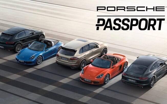 A Porsche também oferece um programa de assinatura de SUVs e esportivos para clientes cadastrados