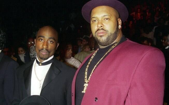 Tupac e Suge Knight