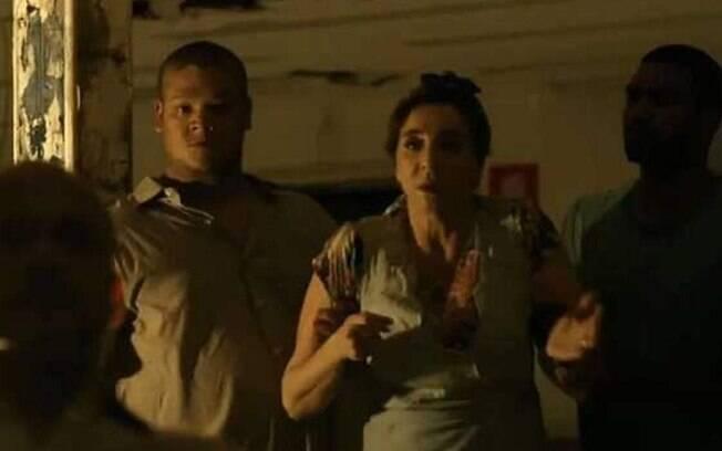 Francesca é sequestrada em