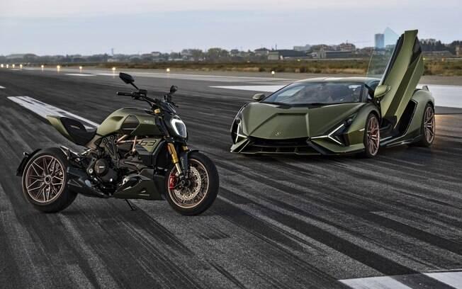 Ducati Diavel 1260 Lamborghini: duas supermáquinas que tem o alto desempenho (e as cores) em comum