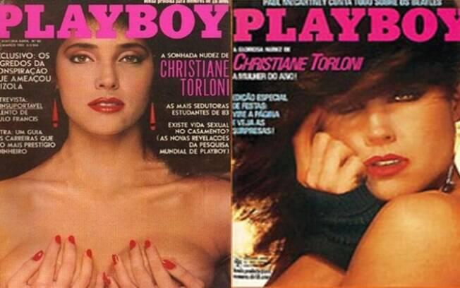 Atriz Christiane Torloni foi capa da revista 'Playboy' pela primeira vez em 1983 e pela segunda vez em 1984