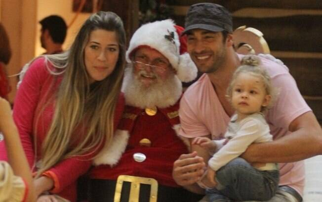Victor Pecoraro: clique com o Papai Noel
