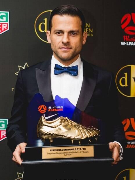 Bobô foi o artilheiro do Campeonato Australiano com 20 gols em 20 jogos