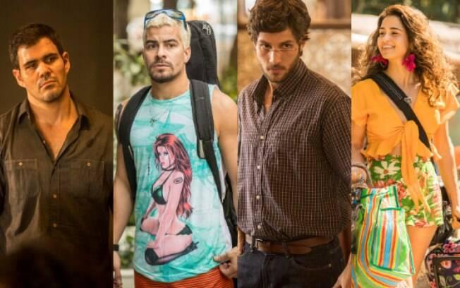 Thiago Martins, Juliano Cazarré, Chay Suede e Nanda Costa fazem parte do elenco de