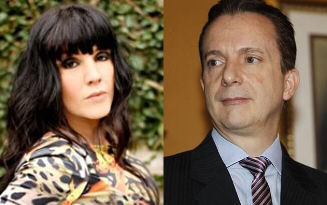 POucos se lembram, mas a cantora Simony e o apresentador Celso Russomano já namoram. Foi um romance rápido, de cinco meses, mas a amizade entre eles continuou
