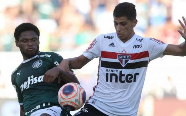 Palmeiras e São Paulo se enfrentam neste sábado