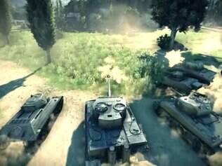 World of Tanks chega ao Xbox One