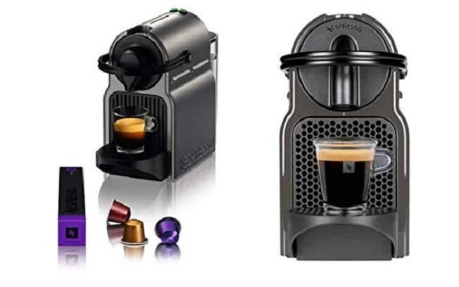 A Máquina de Café Inissia Titan, da Nespresso, está com desconto no site da Amazon Brasil