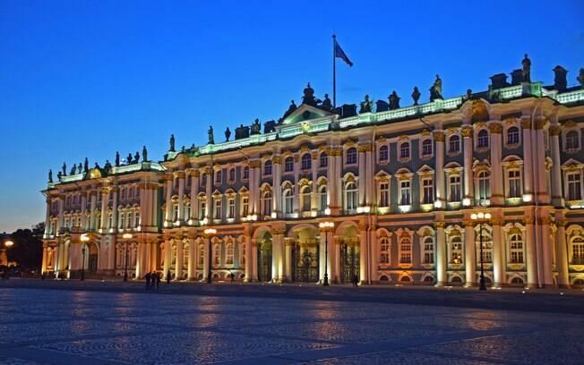 Palácio de inverno, São Petersburgo, rússia