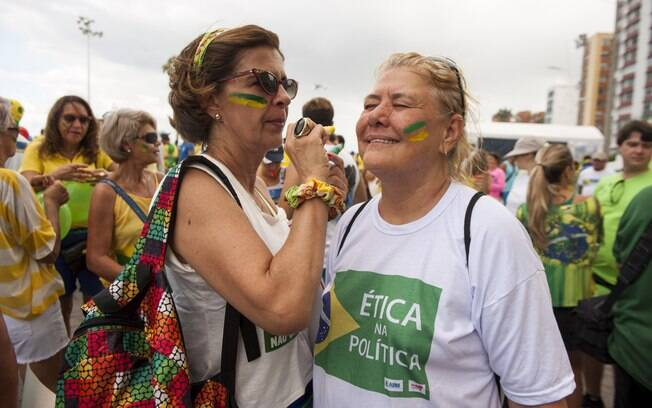Em Salvador, manifestantes pediram o impeachment da presidente Dilma. Foto: João Alvarez/ Fotos Públicas