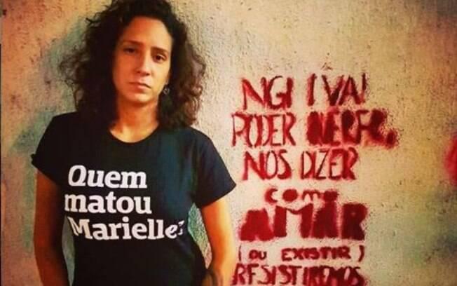 Monica Benicio, viúva de Marielle Franco e hoje vereadora eleita pelo PSOL