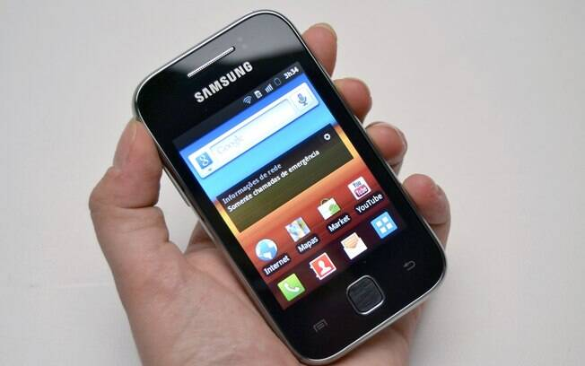 Galaxy Y é Smartphone Básico Com Processador Poderoso