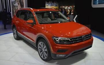 Volkswagen vai trazer ao Brasil o novo Tiguan de sete lugares até o fim do ano
