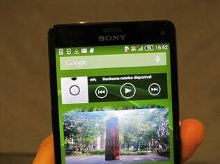 Z3 Compact traz vários apps da Sony