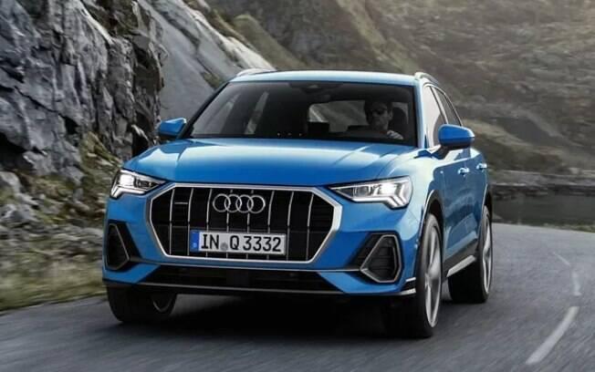 Audi Q3 azul