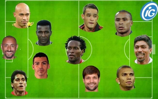 Seleção dos melhores jogadores brasileiros que atuaram no Campeonato Alemão