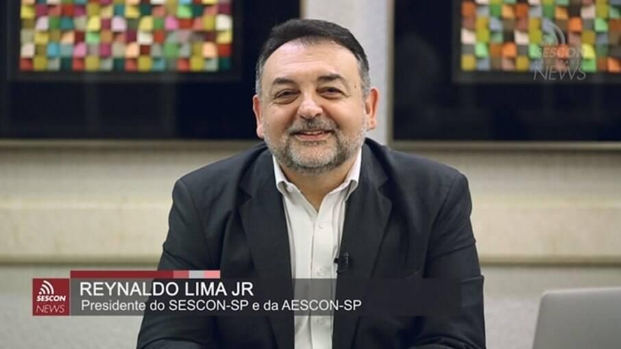 Presidente do Sescon-SP, Reynaldo Lima Jr