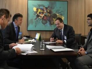 Reunião aconteceu para definir logística da seleção durante a Copa América
