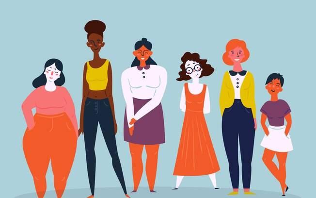 Mulheres empoderadas mostram como a autoestima pode ajudar outras mulheres a aceitarem seus corpos como eles são