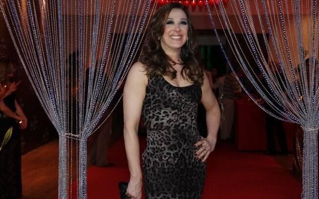 Claudia Raia na festa de lançamento de 'Salve Jorge'