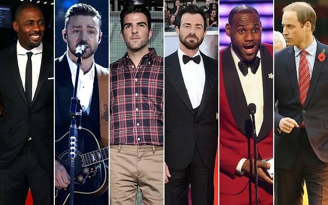Lista dos 25 mais bem vestidos tem cantor, ator, bicampeão da NBA e herdeiro do trono britânico