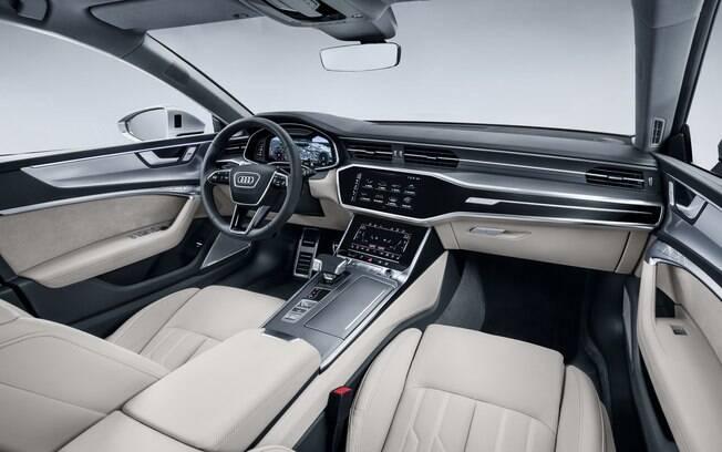 interior do Audi A7