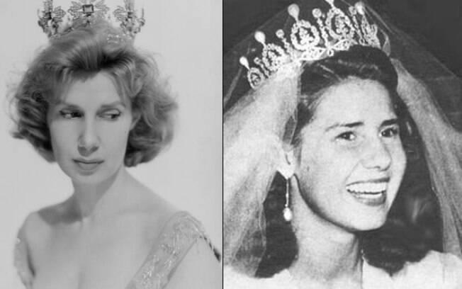 Duquesa de Alba, alguns anos mais jovem