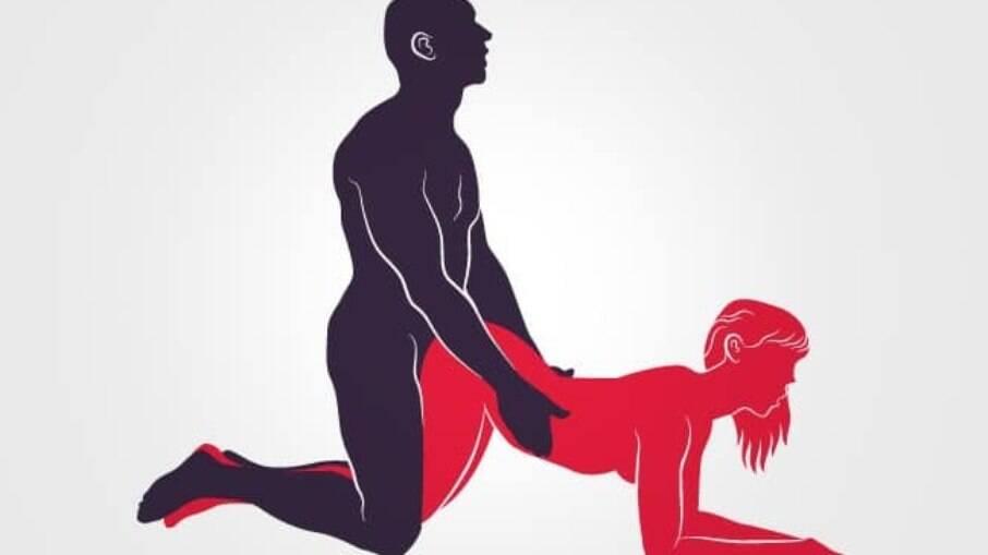 A posição de quatro é uma das que mais oferecem orgasmos intensos